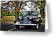 1940 Cadillac Coupe Greeting Card