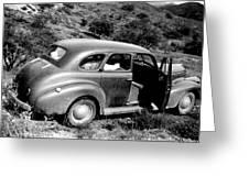 1940 Chevrolet Special Deluxe 4 Door Greeting Card