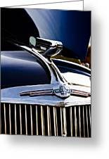 1940 Chevy Coupe Hood Ornament Greeting Card