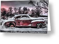 1940 Chevy Greeting Card
