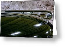 1940 Dodge Pickup Hood Ornament Greeting Card