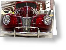 1940 Ford Class W Mild Street Rod Greeting Card