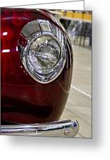 1940 Ford Front Left Light Greeting Card