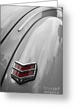 1940 Ford Taillight Greeting Card
