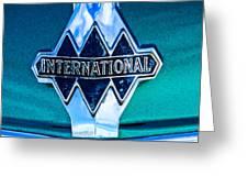 1940 International Emblem Greeting Card