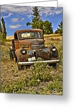 1940's Chevy Truck Greeting Card