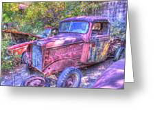 1940s Pickup Truck Greeting Card