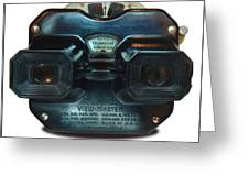 1940's View Master Stereoscopic Viewer Greeting Card