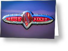1941 Buick Eight Special Emblem Greeting Card