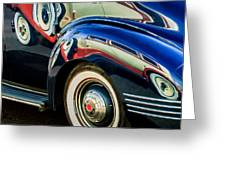 1941 Packard 110 Deluxe -1092c Greeting Card