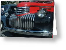 1942 Chevrolet Pickup Truck Grill   # Greeting Card