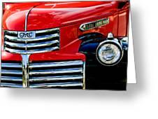 1942 Gmc  Pickup Truck Greeting Card