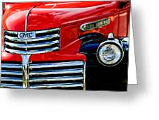 1942 Gmc  Pickup Truck Greeting Card