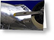 1943 Beechcraft C-45 Expediter Greeting Card