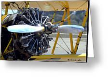 1943 Boeing Super Stearman Greeting Card