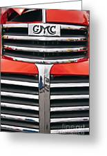 1946 Gmc Truck Grill Greeting Card