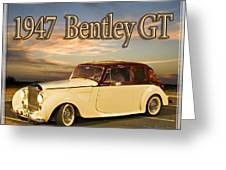 1947 Bentley Greeting Card