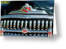 1947 Buick Sedanette Grille Greeting Card