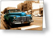 1947 Cadillac Convertible Greeting Card