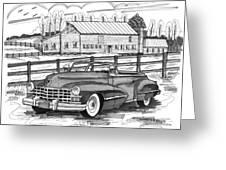 1947 Cadillac Model 52 Greeting Card