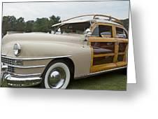 1947 Chrysler Greeting Card