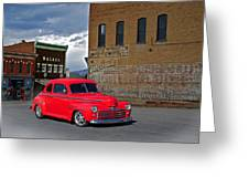 1947 Ford Coupe Greeting Card