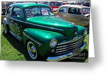 1947 Ford Super Deluxe Greeting Card