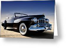 1947 Lincoln Continental Greeting Card