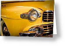 1947 Lincoln Continental Model 76h Greeting Card
