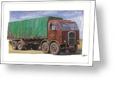 1947 Scammell R8 Greeting Card
