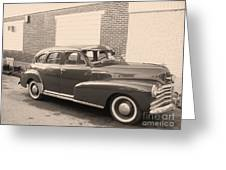 1948 Chevy Greeting Card