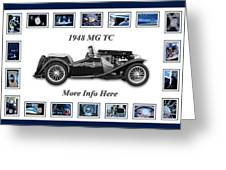 1948 Mg Tc Greeting Card
