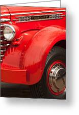 1949 Diamond T Truck Front End Greeting Card