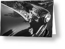 1949 Ford 2 Door Custom Painted Bw    Greeting Card