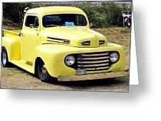 1949 Ford Pickup Greeting Card