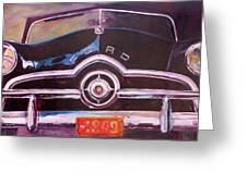 1949 Ford Greeting Card