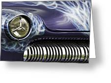 1949 Mercury Eight Hot Rod Greeting Card