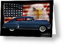1949 Pontiac Tribute Roger Greeting Card