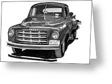 1949 Studebaker Pick Up Truck Greeting Card