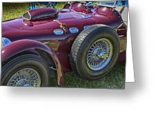 1950 Allard J2 Competition Roadster Greeting Card