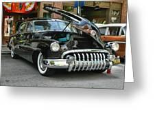 1950 Buick 2 Greeting Card