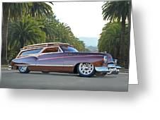 1950 Buick Woody Wagon Vi Greeting Card