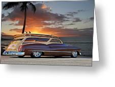 1950 Buick Woody Wagon Xi Greeting Card