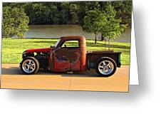 1950 Chevrolet Stubby Pickup Truck Greeting Card