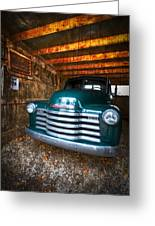 1950 Chevy Truck Greeting Card