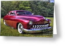 1950 Custom Mercury Greeting Card
