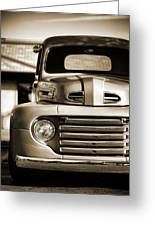 1950 Ford F-100 Greeting Card