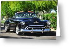 1950 Oldsmobile 88 -105c Greeting Card