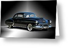 1950 Oldsmobile 88 Deluxe Club Coupe I Greeting Card