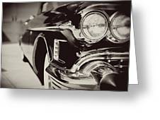 1950s Cadillac No. 1 Greeting Card
